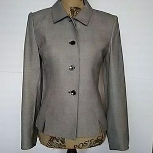 Gingham button-down Blazer / sports coat